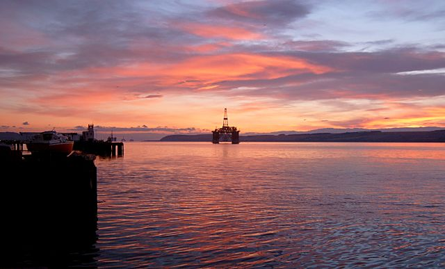 Sunrise over Cromarty