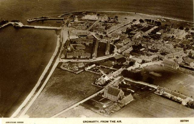 Cromarty from the Air - c1935