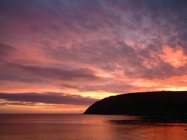 Sunrise over the Sutor 3/1/2005