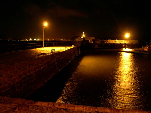 New harbour lighting