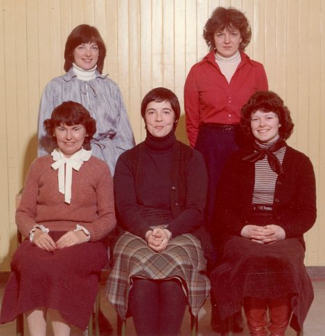 Cromarty Primary School Staff - 1978