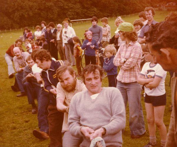 Tug of War at the Gala - 1980