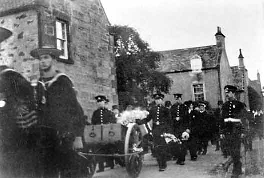Funeral procession in Church St - c1916??