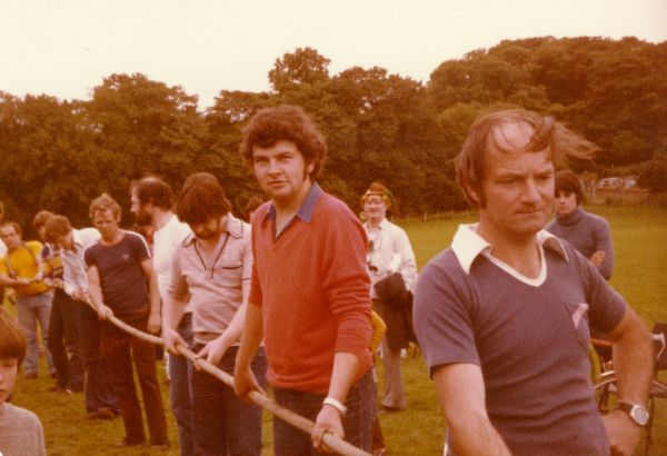 Tug of War at the Gala - 1980