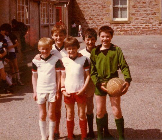 1980-81 'A' Football Team