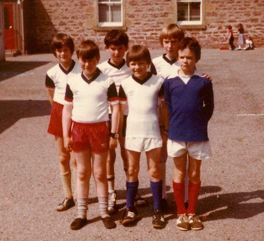 1980-81 'B' Football Team