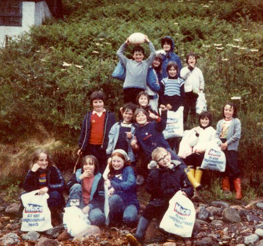 1980 June walk to MacFarquhars Bed