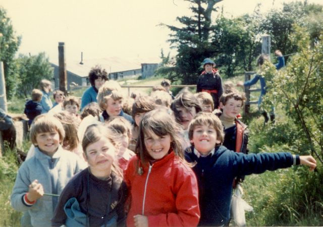 Primary 2/3/4 Walk to the Camps - 1982