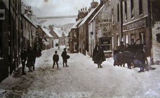 Church St in the Snow