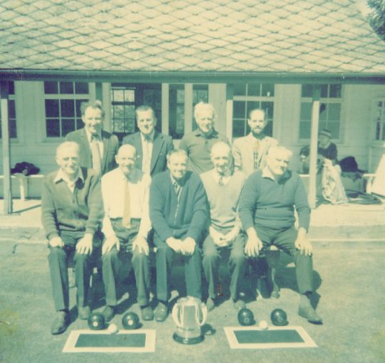Cromarty Bowling Club - c1980