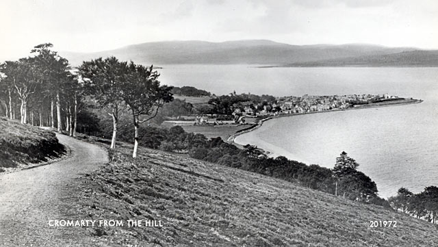 Cromarty from the Hill postcard