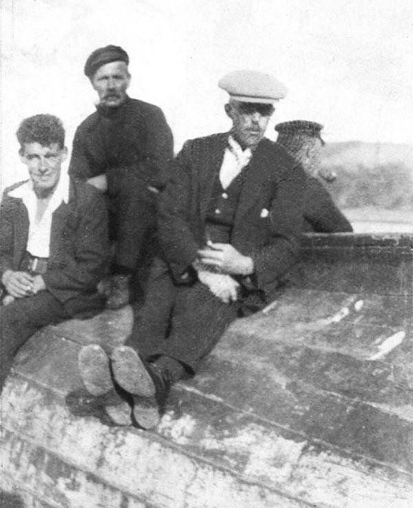 Fishermen on the Shore