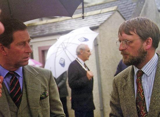 Prince Charles and David Alston