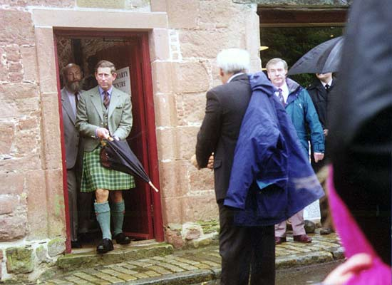 Prince Charles and Michael Nightingale