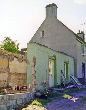 16 Forsyth Place at start of renovation