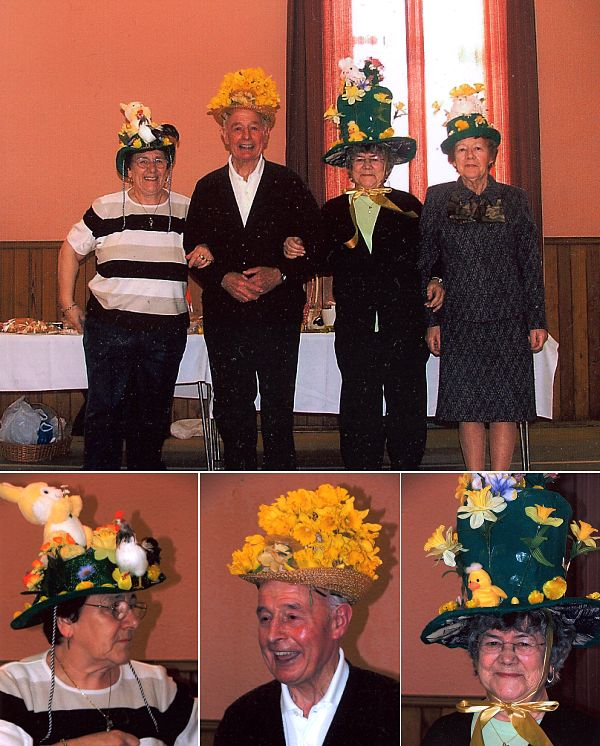 Fourways Club Easter Bonnet Competition