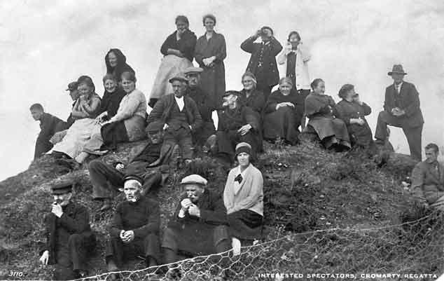 Spectators at Cromarty Regatta c1930??