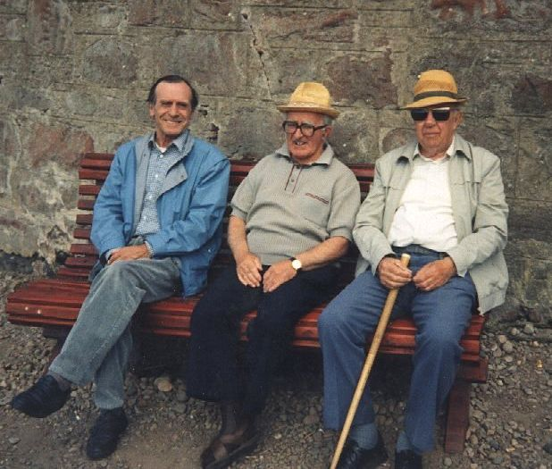Three Gents on Lazy Corner