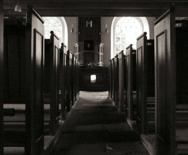 East Church Pews