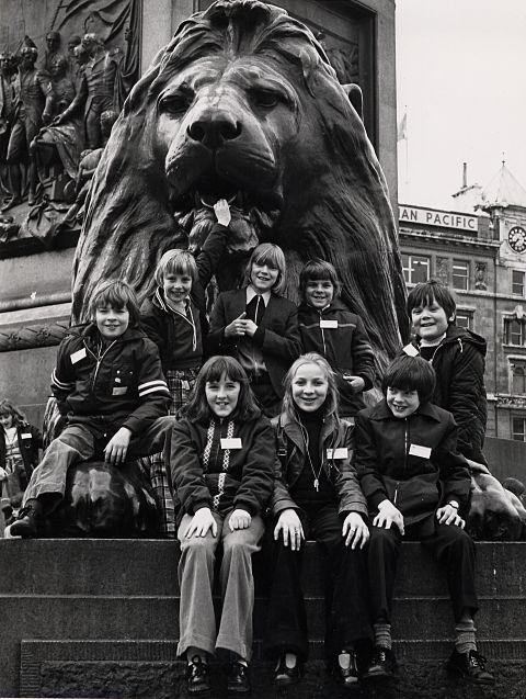 School Trip to London - Trafalgar Square