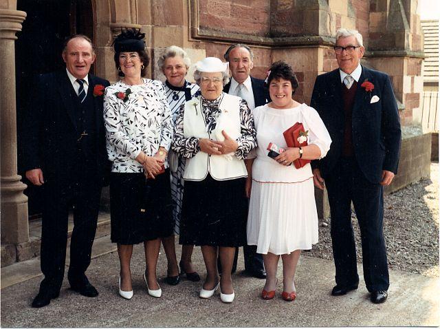 Wedding at West Church - c1991??