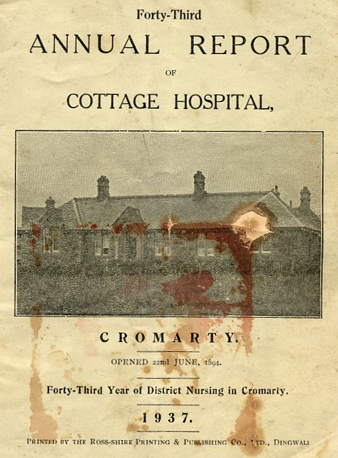 Annual Report of the Cottage Hospital