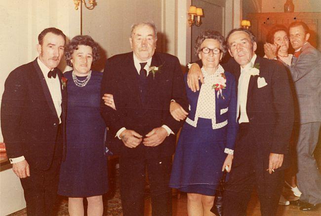 Jock Shepherd with four of his children - 1975???