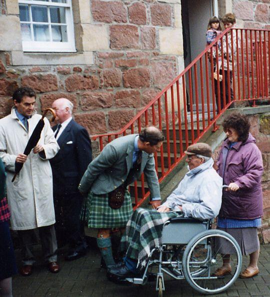 Prince Charles meets Skip Mackay
