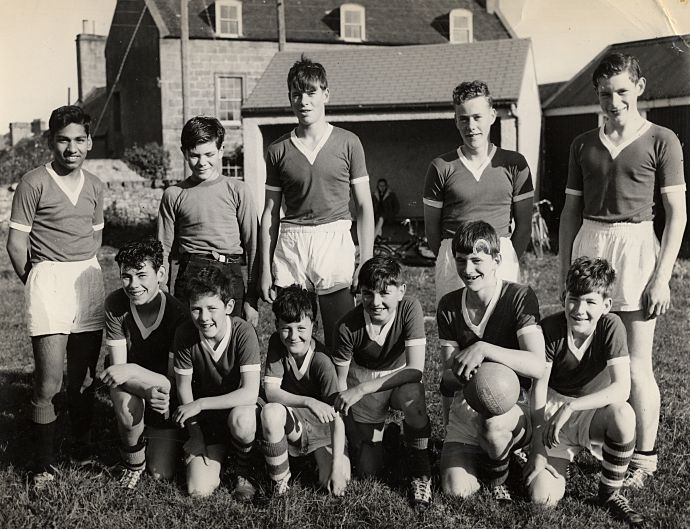 School Football Team - c1965