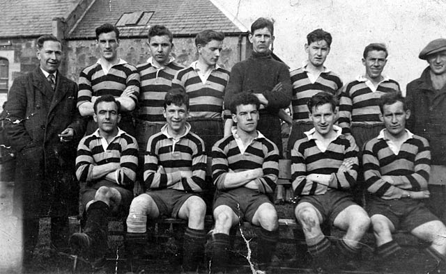 Cromarty Football Team 1936