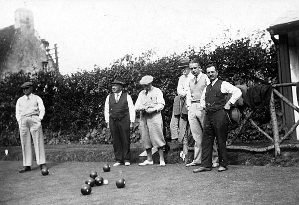 Bowling in August 1936