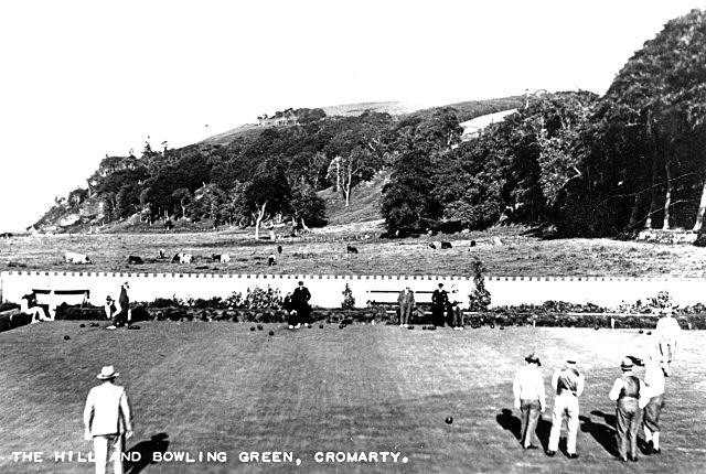 The Hill and Bowling Green - c1936