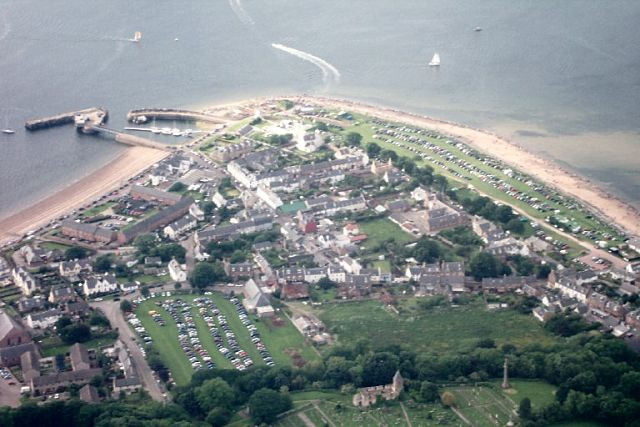 Aerial pic of Cromarty