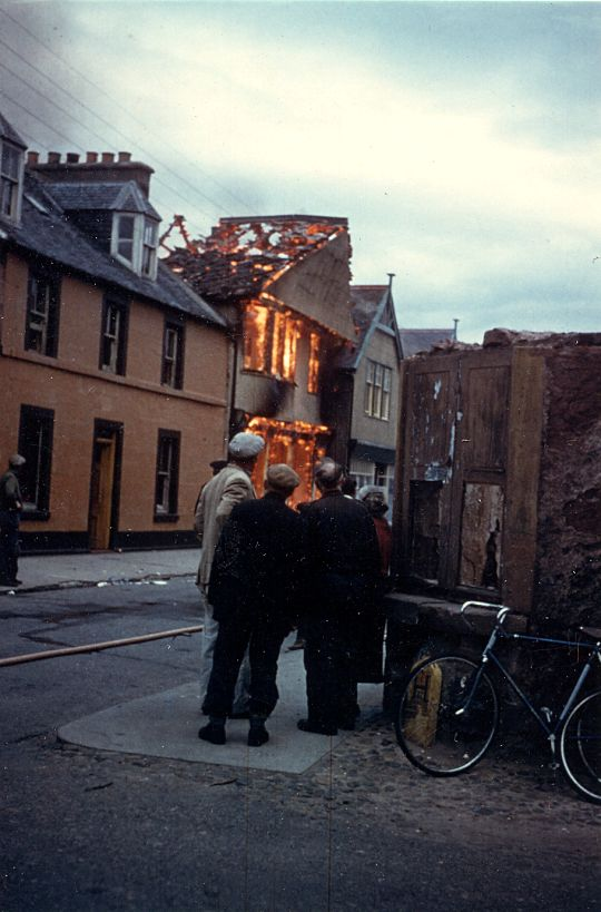 Post Office Fire - 1962