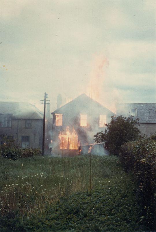 Post Office Fire - 1962 - rear view