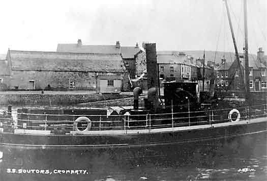 SS Sutors in Cromarty Harbour