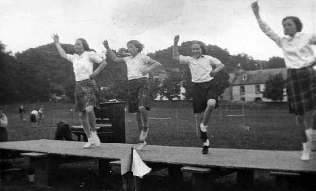 Highland Dancing at 1939 sports day