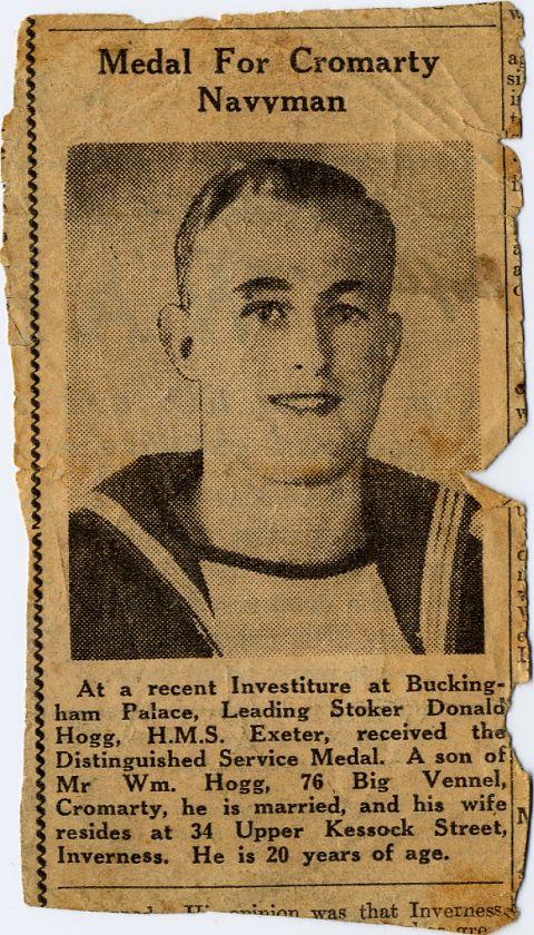 Donald Hogg - c1945