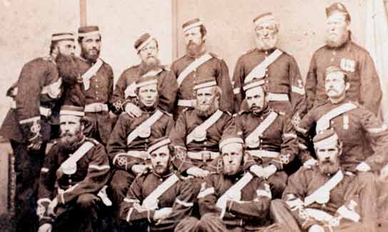 Group picture of soldiers