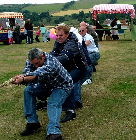 Oldies Tug O' War Team