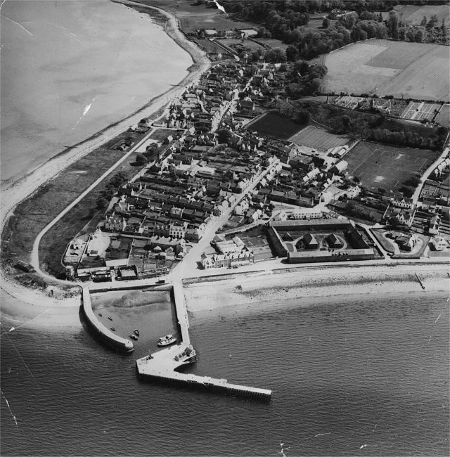 Cromarty from the Air - c1962