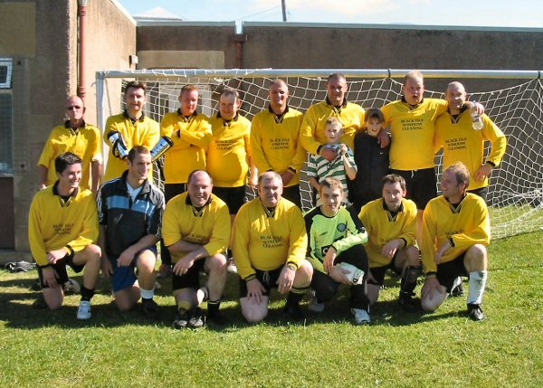 The 2005 Oldies Team