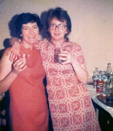 Janice Scott-Lodge & Margaret Martin (nee Bain)