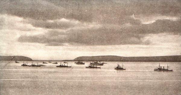 The Fleet in Cromarty