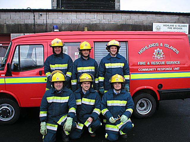 Cromarty's new fire engine