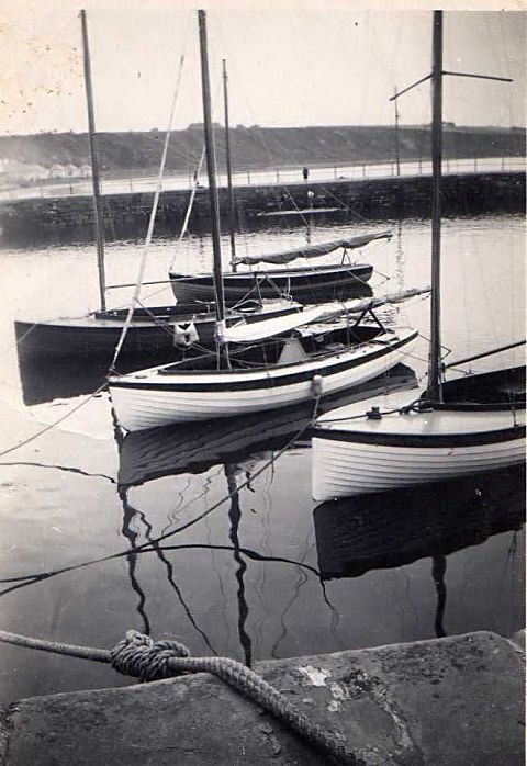Boats in the harbour - c1948