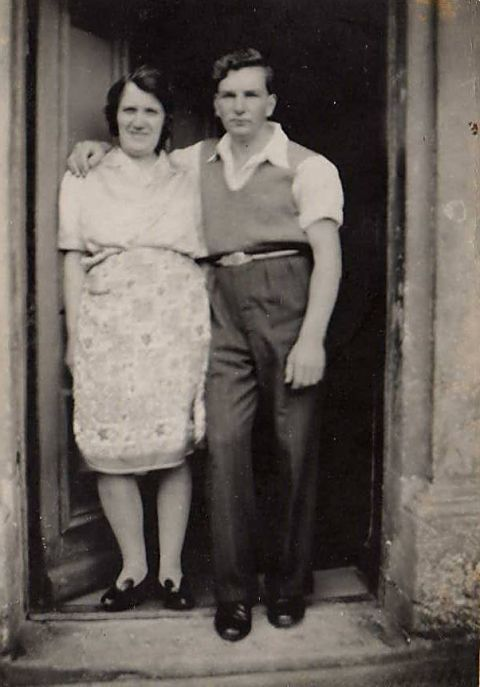 Derry and Isabella Duff - c1945
