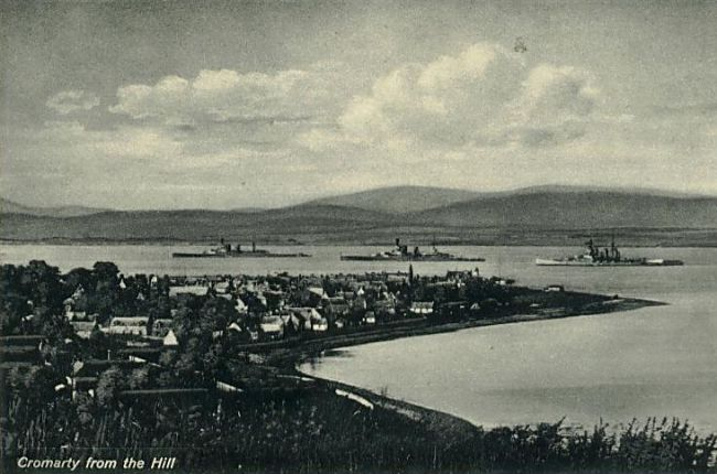 Cromarty from the Hill - c1908