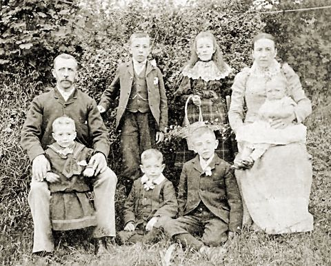 James & Mary Shepherd and family