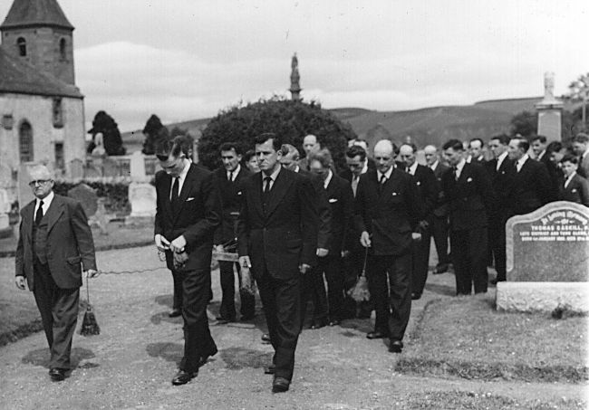 Funeral at Gaelic Chapel
